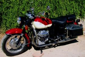 Author's 1972 Moto Guzzi Eldorado