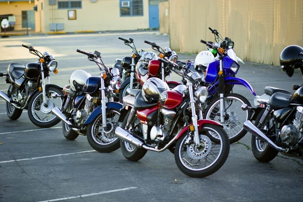 Motorcycles Used in Ride Rite Course