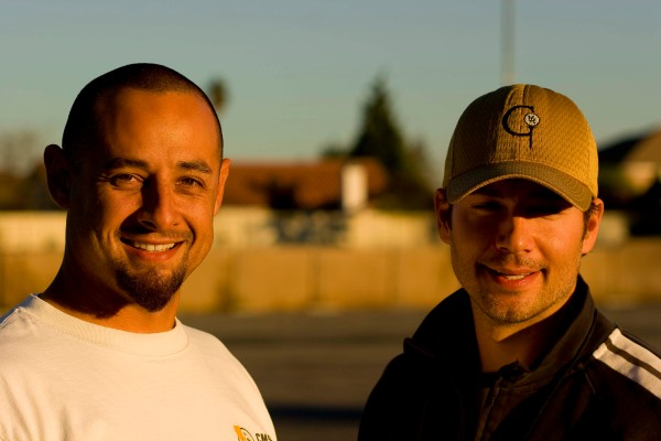 Steve Bergstrom and Carl Evans