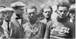 Team Moto Guzzi, circa 1921