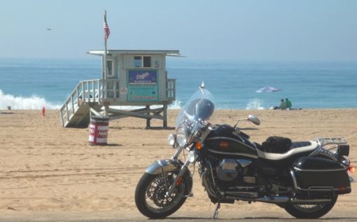 Taking a mental health day and cruising the PCH -- Malibu.