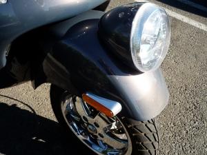 Retro headlight, 14-inch tire.