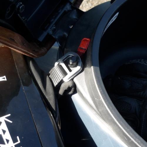 Helmet Lock Detail