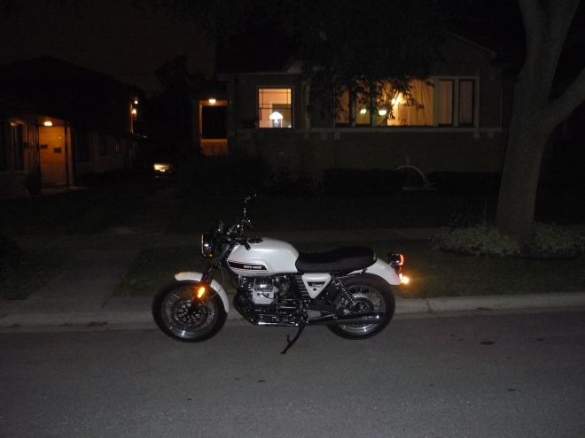 My Moto Guzzi V7 Classic, Finally got off it long enough for a picture.