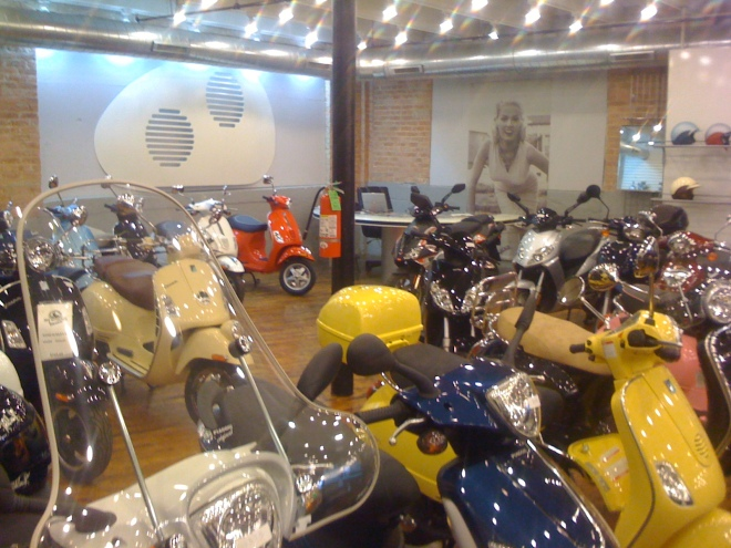 The Motoworks Showroom
