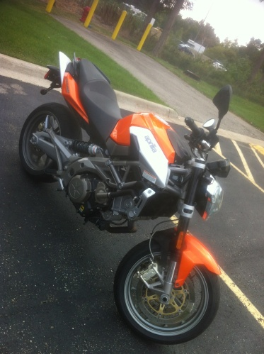 My new Aprilia Shiver